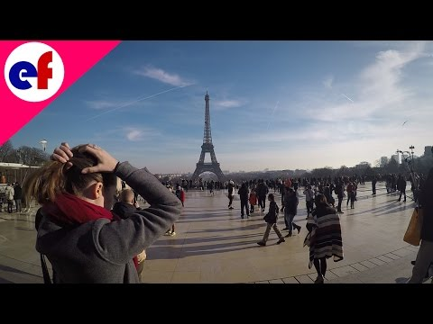 Winter In Paris 2017: Eiffel Tower and Trocadero (HD 1080p 60fps)