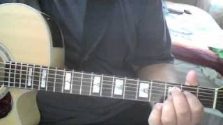 The Lord Is My Light (First Guitar Part)