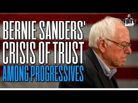 Bernie Sanders Losing Trust Among Progressive Supporters