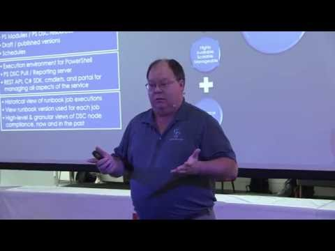 WinOps Conf 2016 | Ed Wilson/Scripting Guy - Configuration Management with Azure