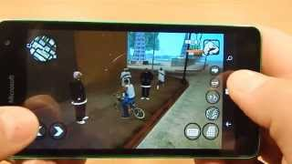 Lumia 535 GTA San Andreas
