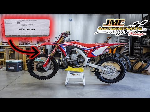 UNBOXING The All New 2020 CRF 450R Works Edition! | JMC Racing