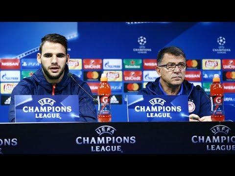 Συνέντευξη Τύπου (Σπόρτινγκ - Ολυμπιακός) / Press Conference (Sporting CP - Olympiacos)
