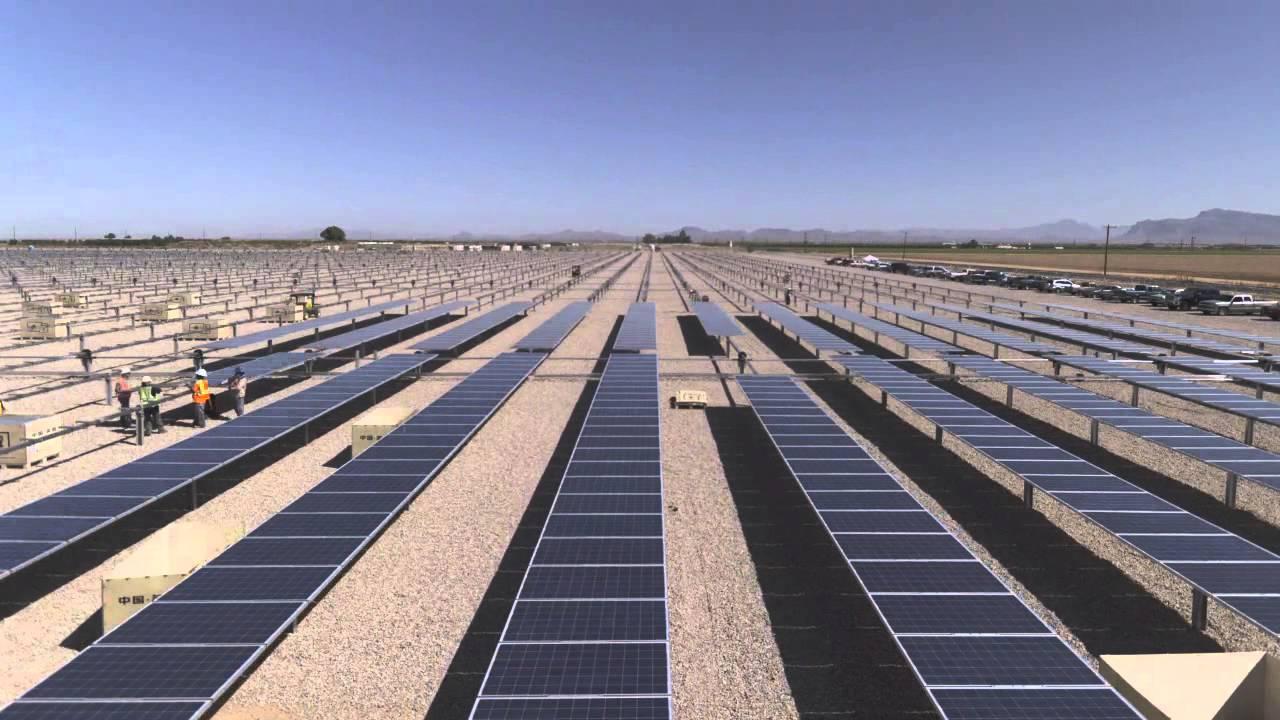 Juwi Solar S Installation Time Lapse A 25mw Dthz Solar