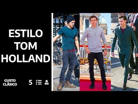 Viste Casual como Tom Holland | Estilo clásico para adolescentes