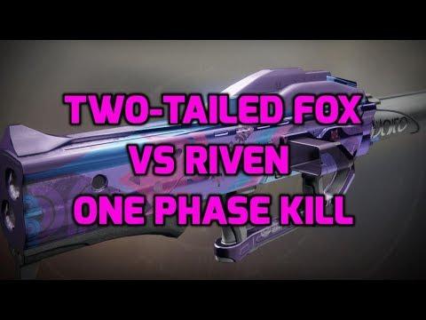 Destiny 2 - Post Patch: Two-Tailed Fox vs Riven (One Phase Kill) Last Wish Raid thumbnail