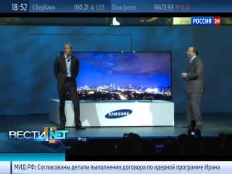 видео: Вести.net: samsung и lg презентовали гнутые телевизоры