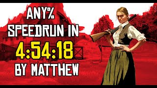 (NEW World Record) Red Dead Redemption Any% Speedrun in 4:54:18
