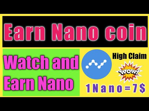 how to earn Nano coin without investment/earn cryptocurrency