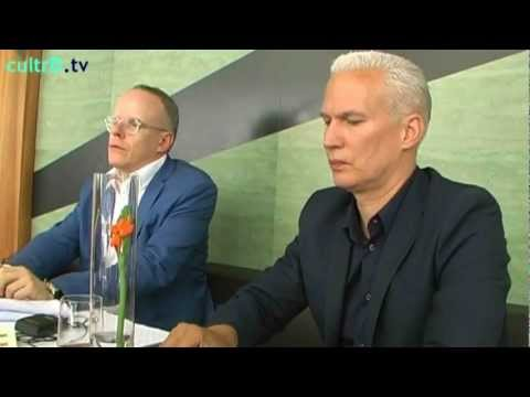 5437.cultrD.tv Klaus Biesenbach Interview Talk Hans Ulrich Obrist 12 rooms Folkwang Ruhrtriennale