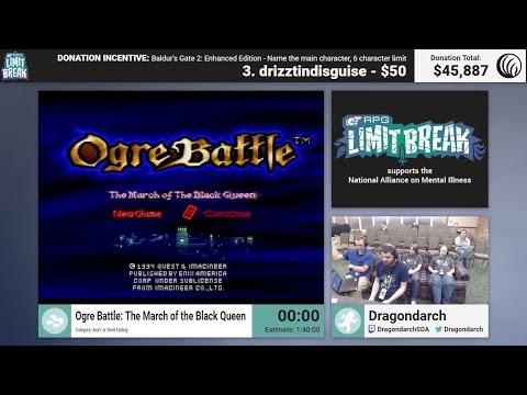 Ogre Battle (Devil Ending) By Dragondarch (RPG Limit Break 2017 Part 25)
