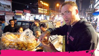 Indian STREET FOOD Tour at Night - Momos, Vada Pav & Chicken Tandoori | Jorhat, Assam, India