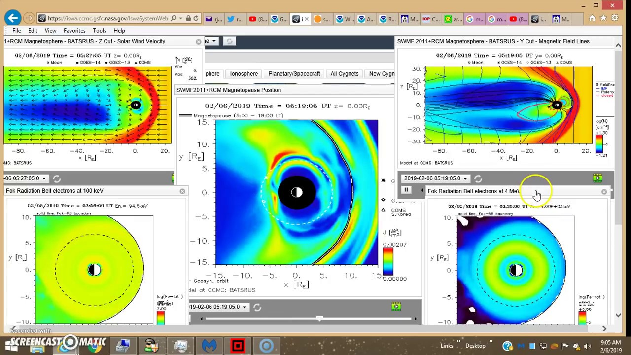 02/06/19 - Compare MLSO Images At Perihelion in January 2015 & Today!!!