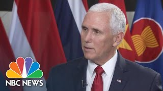 Mike Pence: 'Now We Need To See Results' On North Korea Denuclearization | NBC News