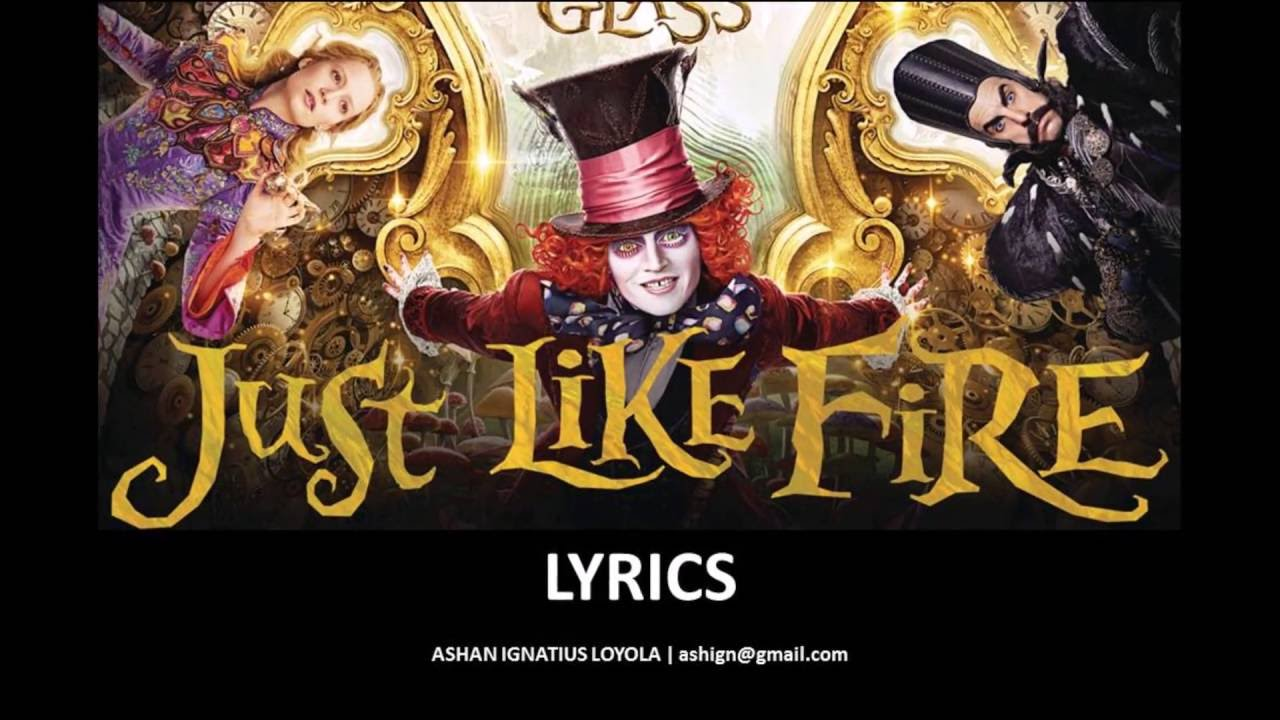 """Download P!nk - Just Like Fire (From the Original Motion Picture """"Alice Through The Looking Glass"""") 