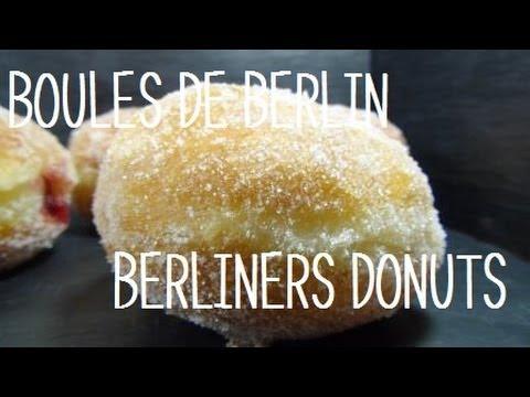 Recette des boules de berlin berliners doughnuts youtube - Recette boule de berlin moelleuse ...