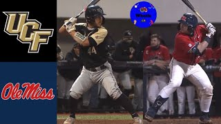 UCF vs #1 Ole Miss Highlights | 2021 College Baseball Highlights