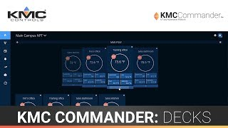 KMC Commander: Dashboard & Decks
