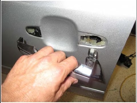 How To Remove Drivers Side Door Handle From A 2006 Hyundai