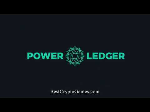 What is Power Ledger POWR CryptoCurrency | Crowd-fund renewa