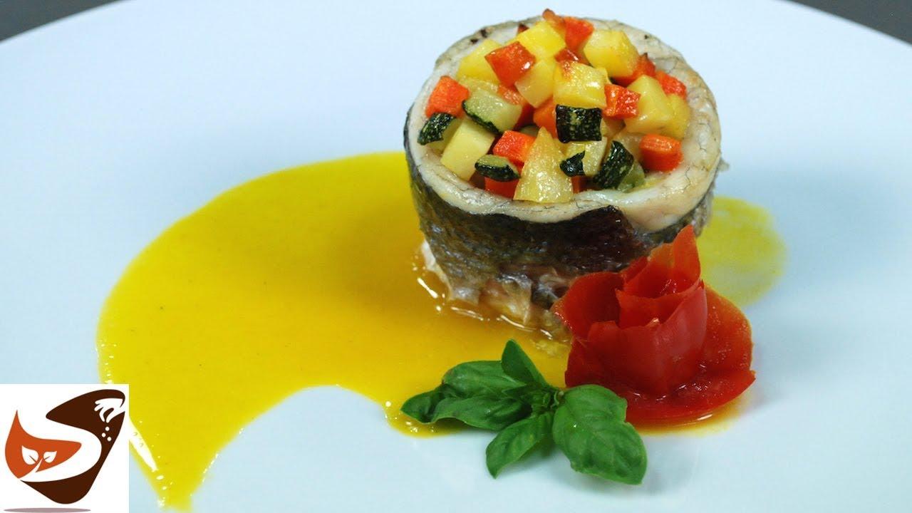 Spigola Al Forno Con Patate E Zucchine Secondo Piatto Buonissimo