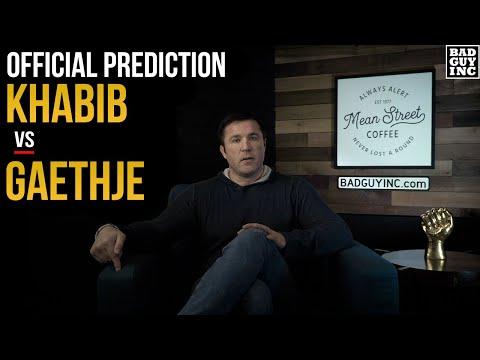 Official Prediction: Khabib Nurmagomedov vs Justin Gaethje