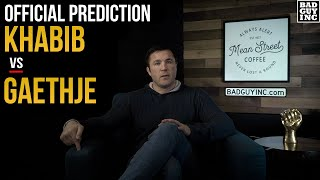 Official Prediction: Khabib Nurmagomedov vs Justin Gaethje