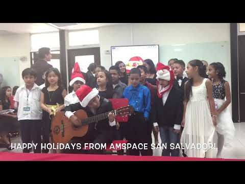 Happy Holidays from American Space IENS San Salvador