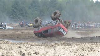 Repeat youtube video Perkins Big Crash Freestyle Mudding At Michigan Mud Jam 2013 View 1