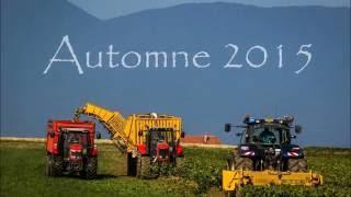 Chantier betterave 2015 Suisse Broye [Gopro]