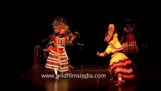 Mask or Devil dance of Sri Lanka