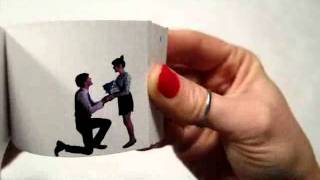 The sweetest proposal flip book