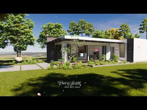 Trailer - Thiết Kế Nhà cấp 4 NGHỈ DƯỠNG Cực đẹp | Nhà vườn 3 phòng ngủ hiện đại