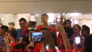 Fandi Ahmad, Kami Bersamamu chant
