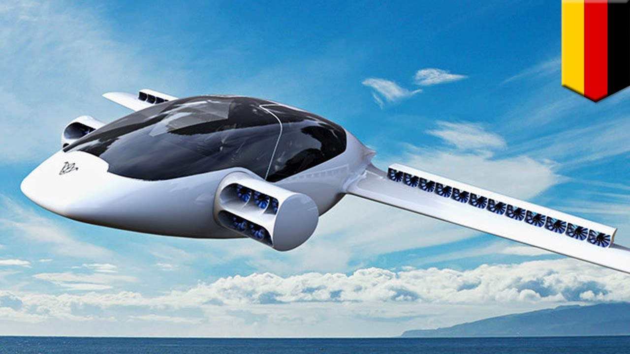 Germany successfully tested the first flying electric car 42