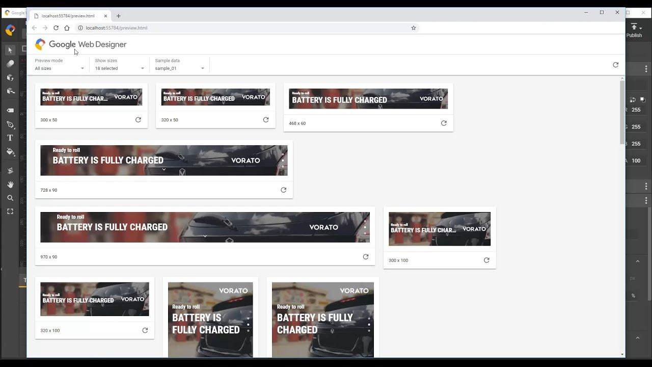 Advanced Preview Configuration Google Web Designer Youtube