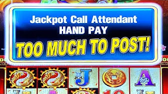 HIGH LIMIT AINSWORTH SLOTS ★ DRAGON LINES ➜ JACKPOT HANDPAY