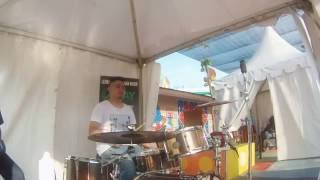 Test Drive Ahay Java Rosewood Solid stave Drum Set