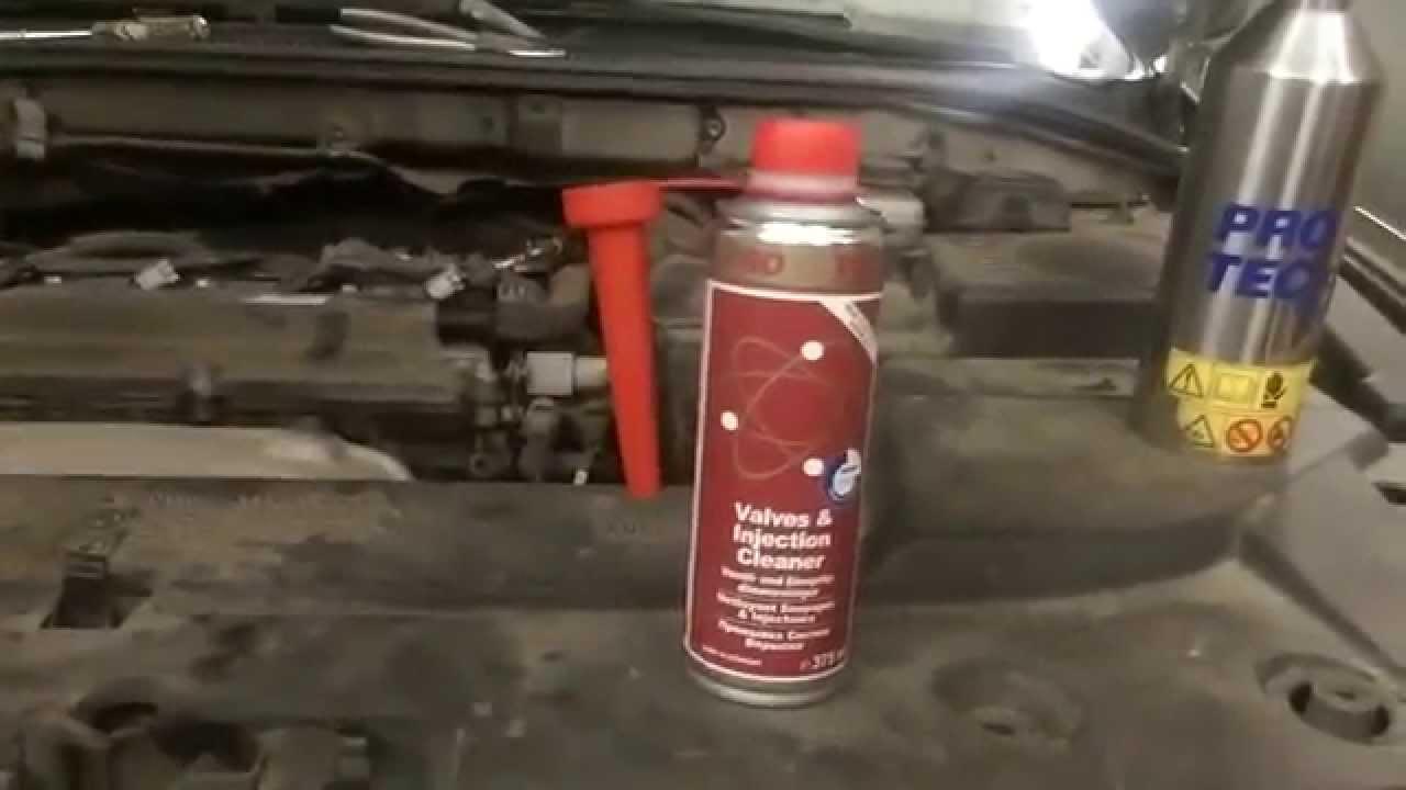 промывка форсунок 2.0 бензин peugeot