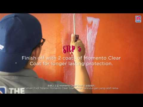 How To Paint: Velvet Effect With Nippon Momento Designer Series - Special Effects Paint