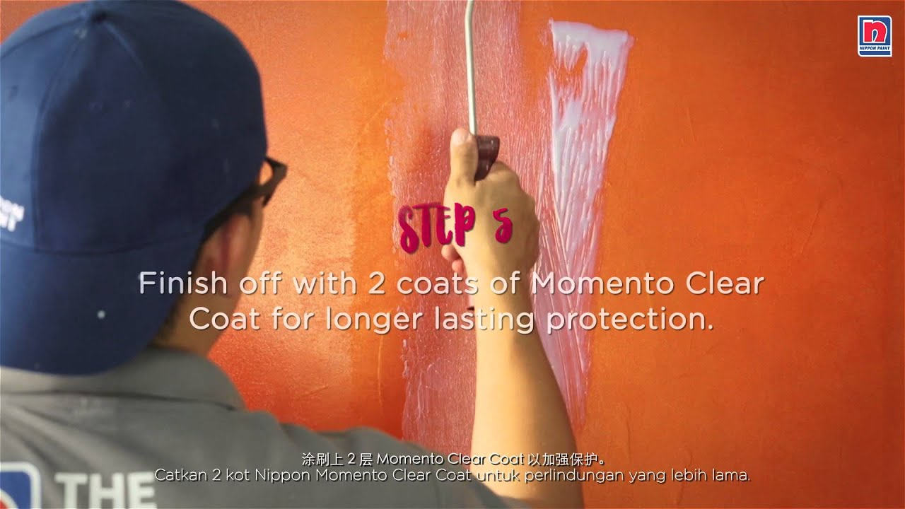 How To Paint Velvet Effect With Nippon Momento Designer Series