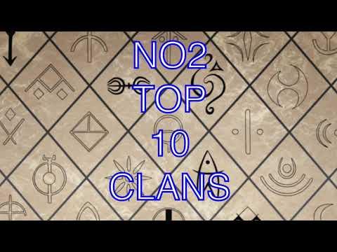 NO2 TOP 10 CLANS