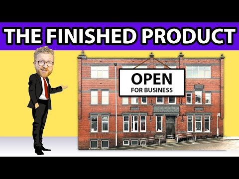 Commercial to Residential Conversion - A Tour Around - Miles Bulloch at Propertunities [Video 7]