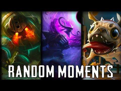 Random LoL Moments #24 | League Of Legends Mid