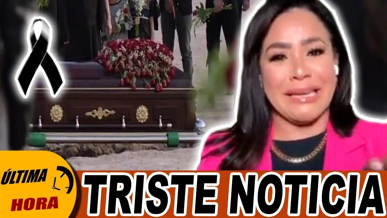 🖤 🚨 ¡ÚLTIMO MOMENTO! 😭 Carolina Sandoval de LUTO por esta TRISTE PERDIDA 💔