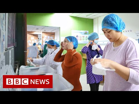 Coronavirus: Some workplaces in Wuhan to re-open - BBC News