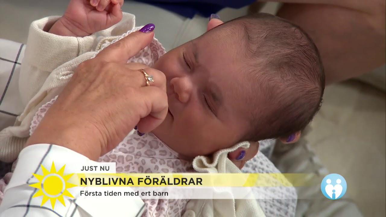 markiz och soraya får svar om första tiden med bebis - nyhetsmorgon