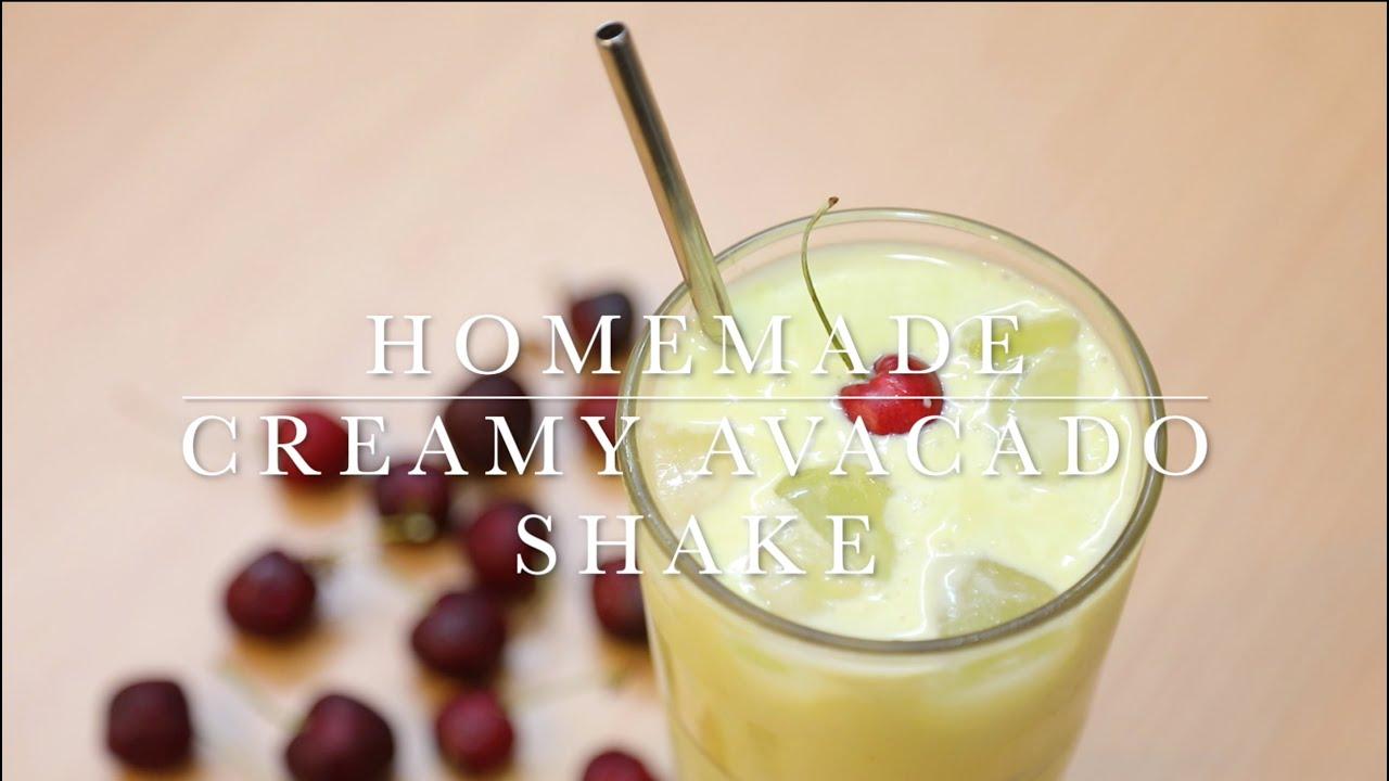 Creamy Avocado Shake || Homemade