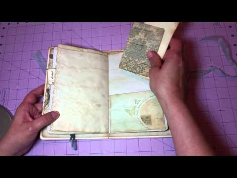 Inspired by Yvonne White, 3 Little Junk Journals for my new etsy shop *SOLD
