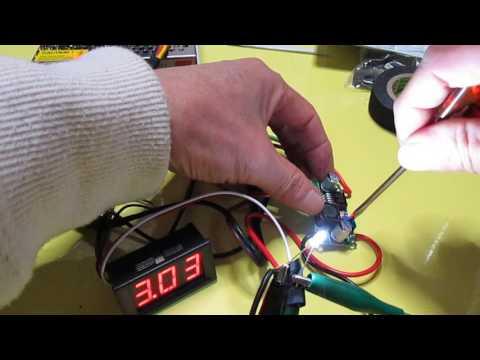 検証試験 定格3VのLEDは何ボルトで切れるのか